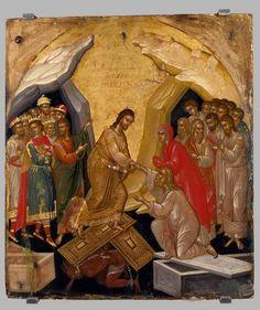 Saint Tikhon of Moscow Orthodox Church Byzantine Icons, Byzantine Art, Religious Icons, Religious Art, Holy Saturday, Sunday, Roman Church, Christ Is Risen, Jesus Christ