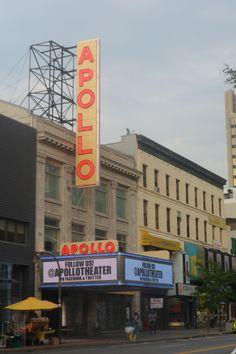 Teatro APOLLO, Harlem, Nueva York.