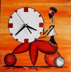 Rastal'heure Rouge-orange