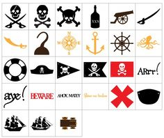 Under A Cherry Tree: More NEW SVGs! PIRATES!!!