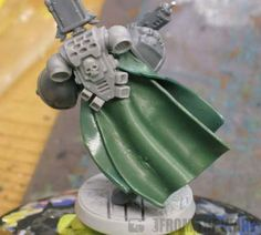 From the Warp: How to sculpt greenstuff cloaks and capes