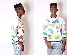 Vintage Sweatshirt  Fresh Prince Sweatshirt  by EmmettBrown, $28.00 prints