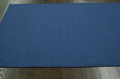 $5 Off when you share! Jubilee Outdoor Braided Blue Rug   Solid & Striped Rugs #RugsUSA
