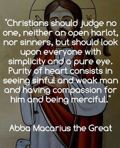 Abba Macarius the Great Christian Love, Christian Faith, Christian Quotes, Catholic Quotes, Religious Quotes, Saint Quotes, Praying To God, Faith In Love, Spiritual Wisdom
