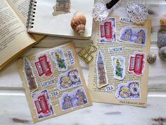 Kép Printable Stickers, London, Tea, Bullet Journal, Illustrator, Instagram Posts, Anglia, Prints, Illustrators