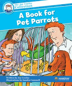 $5.95 A Book for Pet Parrots - Part of the Blue Series: Learn how to be the best pet parrot your owners have ever had!