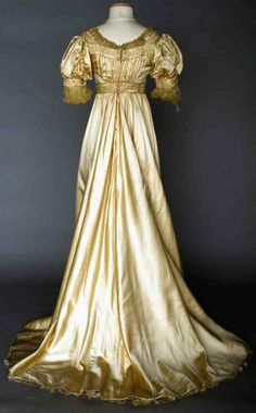 AESTHETIC EVENING GOWN, 1905-1910