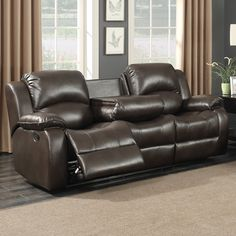 amax leather westminster ii top grain leather power reclining 3 rh pinterest com