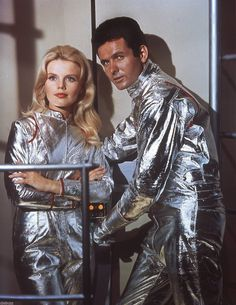 Publicity shot, from the Irwin Allen, 1960's TV series, LOST IN SPACE.