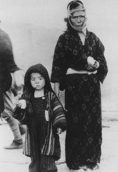 原爆投下直後の長崎の様子