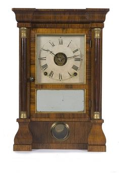 Antique Seth Thomas Mantle Clock with big celluloid ...