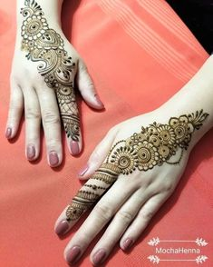 Now grab your favorite and most beautiful henna designs for women specifically for formal functions. Indian Henna Designs, Mehndi Designs For Girls, Henna Art Designs, Wedding Mehndi Designs, Mehndi Design Pictures, Modern Mehndi Designs, Beautiful Henna Designs, Nail Designs, Mehndi Images