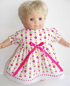 American Girl Bitty Baby Clothes 15 Doll by adorabledolldesigns, $11.95