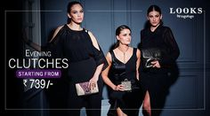 Carry elegance in your hands. Check our Evening Clutches Range starting from Rs. 739,