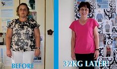 32kgs later! www.tlcforwellbeing.com Weight Loss, T Shirts For Women, Tops, Fashion, Moda, Fashion Styles, Losing Weight, Fasion, Weigh Loss
