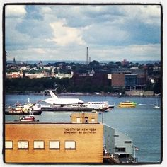 Check out the view from @HotelGansevoort Meatpacking! #Plunge #SpaceShuttle #Intrepid #ViewFromTheTop