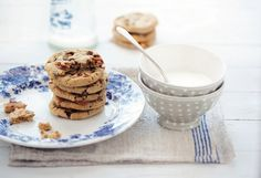 Recipe: Gluten-Free Hazelnut Butter Toffee-Chocolate Chip Cookies -- from Aran Goyoaga - Clean Plate Charlie