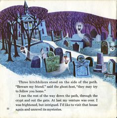Walt Disney Presents The Haunted Mansion ©1970 - pg 22