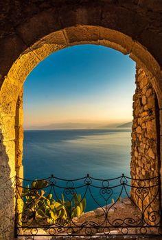 Window in Nafplio