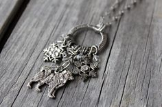 Samoyed Necklace Samoyed Snow Dog Necklace by KathrynsCollection