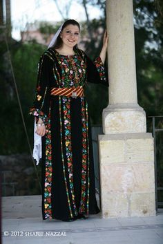 Traditional Palestinian Thobe