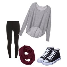 cute fall outfit  <3 by ariannamae1 on Polyvore featuring Victoria's Secret, Splendid and Athleta