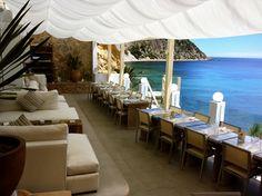 Come Ibiza » Amante Beach Club, terraza idílica