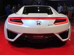 Honda NSX Concept - Istanbul Auto Show 2015