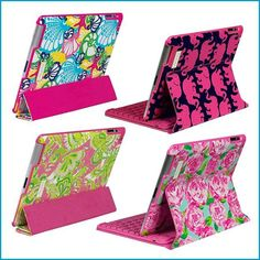 Lilly Pulitzer iPad Cases @Pamela Hichens McFarland -The Patriotic Pam i want the elephant one