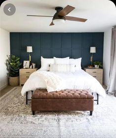 Master Bedroom Makeover, Master Bedroom Design, Home Decor Bedroom, Modern Master Bedroom, Master Bedroom Decorating Ideas, Modern Victorian Bedroom, Master Bedroom Plans, Bedroom Wall Designs, Bedroom Ideas
