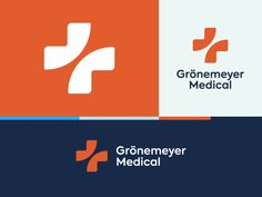 Wip identity designed by Omnium. Medical Logo, Medical Care, Lab Logo, Heart Care, Stress And Depression, Losing A Loved One, Health Logo, Logo Color, Cool Logo