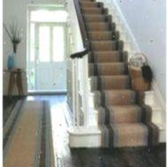 Cheap Carpet Runners For Stairs - Magic Carpet Floor Mats, Tile Floor, Farmhouse Stairs, Cheap Carpet Runners, Magic Carpet, Laminate Flooring, Hardwood, Home Decor, Ideas