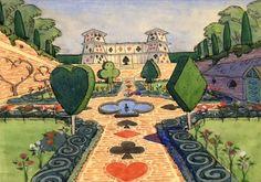 Alice in Wonderland - Concept Art - Disney
