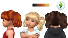 AndreyloverSims - Toddler hair#4(version3)
