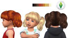 AndreyloverSims - Toddler hair#4(version3)