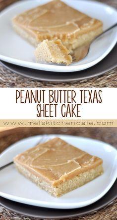 For all you peanut butter lovers out there – this Peanut Butter Texas Sheet Cake will make all your dreams come true.