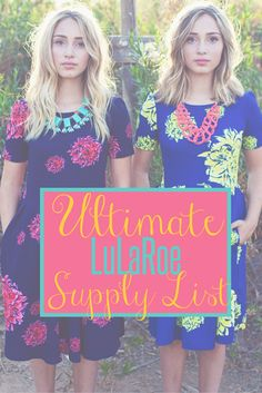 LuLaRoe Supplies List