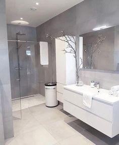 Baderom #Bathroomgrey