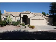 **A MUST SEE** 4 Bedroom, 2 Bath, 3 car (air conditioned) garage one of a kind home, located in the very desirable, quiet, clean subdivision of Arabian Views Unit 3.Unit 3 is covered by a HOA, unlike other units in Arabian Views. Home features include a split floor plan with custom tile & wood flooring throughout. There are added security doors to every entrance into the home. Large Master bedroom has a sitting area with a separate exit to the Lush Tropical backyard, featuring a pool, ...