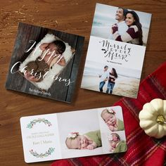 Custom holiday cards from @Vistaprint