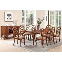 CDecor Wake Forest 7- or 9-piece Dining Set 7-Piece Sets