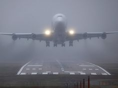 Giant Boeing 747 freighter successfully lands at intended airport