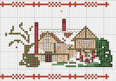 Winter cottage chart