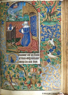 Book of Hours, MS M.167 fol. 84r - Images from Medieval and Renaissance Manuscripts - The Morgan Library & Museum