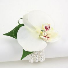 White Phalaenopsis Orchid Wrist corsage