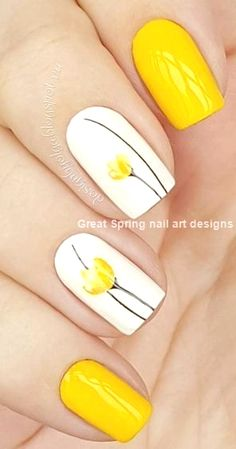 yellow nail art design idea rbrush- awesome beautiful yellow nail art design idea rbrush- Read More by lailadyrendal.awesome beautiful yellow nail art design idea rbrush- Read More by lailadyrendal. Best Nail Art Designs, Nail Designs Spring, Toe Nail Designs, Simple Nail Designs, Beautiful Nail Designs, New Nail Art, Easy Nail Art, Cool Nail Art, Yellow Nails Design