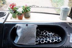 Mega camper van make-over of our Mercedes '74 508d...