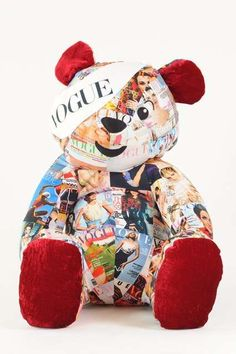 Vogue Charitable Stuffed Animals #Vogue #PudseyBear #SocialBusiness http://www.trendhunter.com/