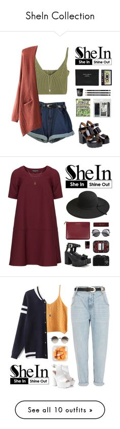 """SheIn Collection"" by carechristine ❤ liked on Polyvore featuring Zoya, Monki, Acne Studios, Royal & Langnickel, Joseph Joseph, Manon Baptiste, Wood Wood, Comme des Garçons, Butter London and Byredo"