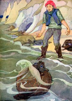 Piggelmee en het toverversie, oude versie sprookjes